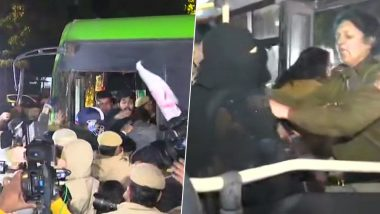 JNU Violence Aftermath: Delhi Police Halt Students' Protest March to Rashtrapati Bhawan, Several Detained