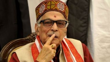 Murli Manohar Joshi Demands JNU VC M Jagadesh Kumar's Removal, Says 'It Is Shocking VC is Adamant For Not Implementing Government's Proposal to Resolve Fees Issue'