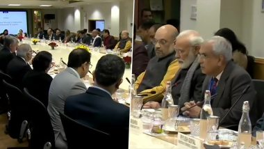 Budget 2020: PM Narendra Modi Holds Meeting With Economists and Industry Experts, FM Nirmala Sitharaman Absent During Crucial Meet