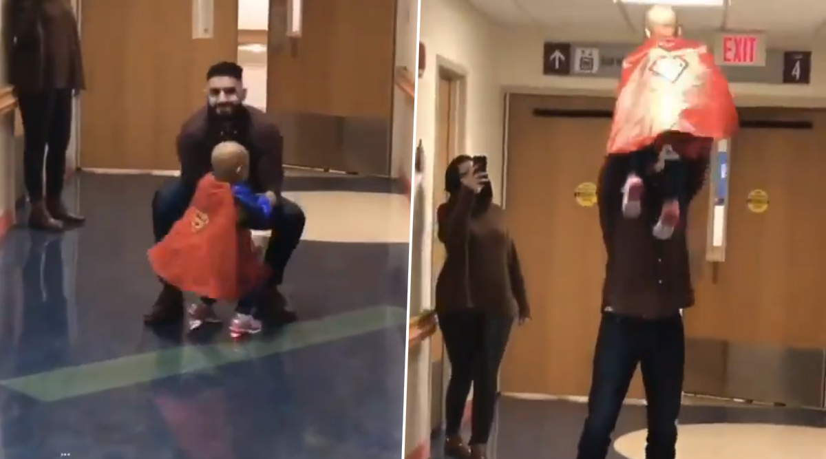 Heart-Warming Video of Little Nusayba Giving Her Liver Doner, a Hug After Fighting Stage 4 Liver Cancer and Defeating It, Goes Viral!