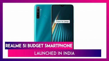 Realme 5i With Quad Rear Cameras Launched In India; Prices, Features, Variants & Specifications