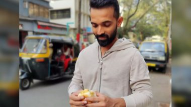 Ajinkya Rahane Asks Fans About Their Preference While Eating 'Vada Pav'