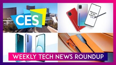 Weekly Tech Roundup: From CES 2020 To Samsung Galaxy S10 Lite Everything You Need To Know From Last Week