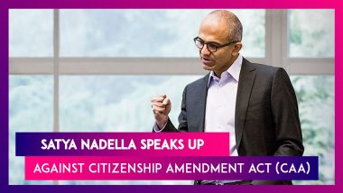 Satya Nadella, Microsoft CEO On CAA And Immigration: I Think What's Happening Is Sad