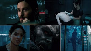 Morbius Teaser Trailer: Jared Leto Goes from Being a Colourful Joker to aDark Character with Vampiric Superhuman Abilities (Watch Video)