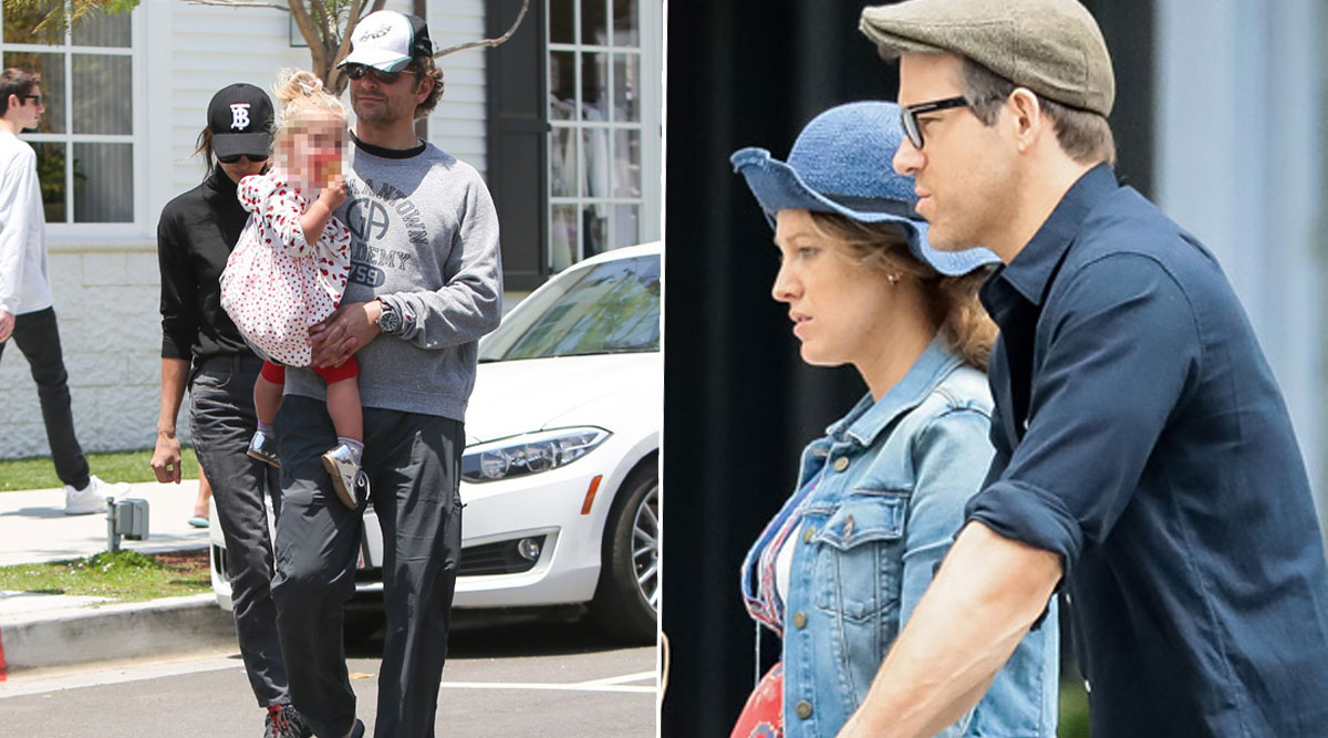 Ryan Reynolds and Bradley Cooper Take Their Daughters to a Playdate Together