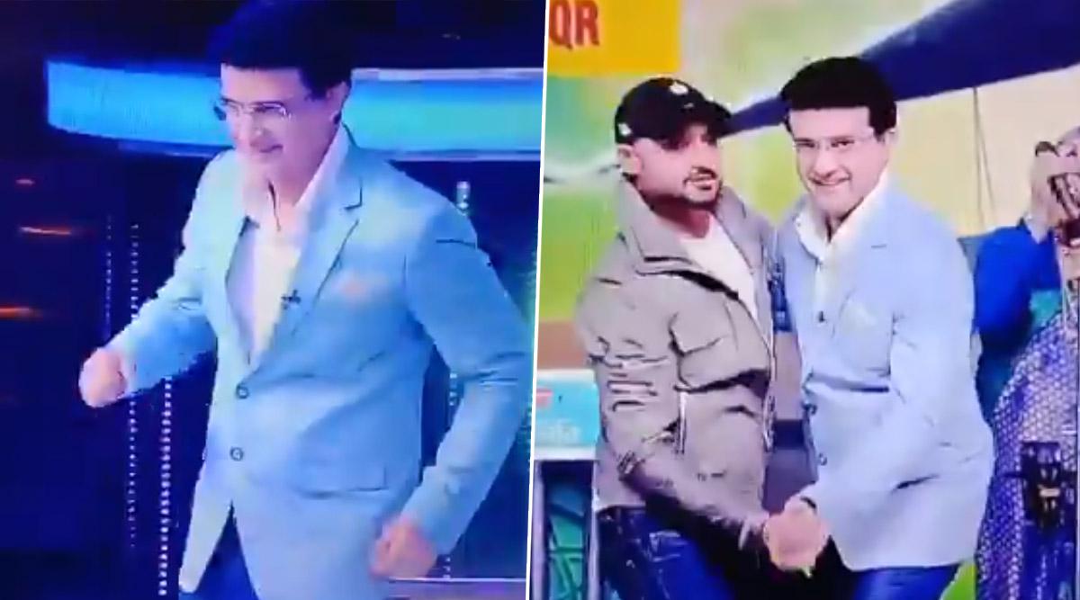 Harbhajan Singh Makes BCCI President Sourav Ganguly Dance to Bollywood Song 'Senorita' During Dadagiri Unlimited TV Show, Watch Video