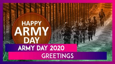 Army Day 2020 Greetings: WhatsApp Messages, Quotes, Wishes, SMS & Images To Send On January 15