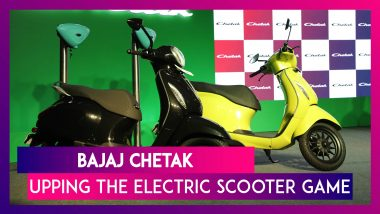 Bajaj Auto Launches Chetak Scooter In Electronic Avatar: Here's An Up, Close & Personal Look