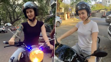 Malang: Elli AvrRam Learnt Bike Riding in Just 3 Days for Her Character in Aditya Roy Kapur's Film