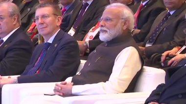 Raisina Dialogue 2020: PM Narendra Modi, EAM S Jaishankar Attend Inaugural Session of Annual Global Conference