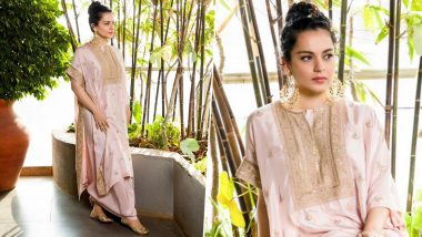 Yo or Hell No? Kangana Ranaut in Anamika Khanna for Panga Promotions