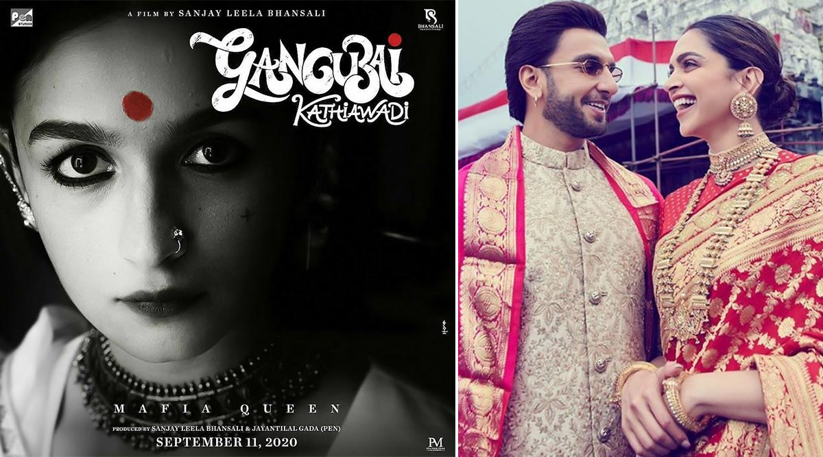 Gangubai Kathiawadi: Check Out Ranveer Singh, Deepika Padukone's Reaction to Alia Bhatt's Look