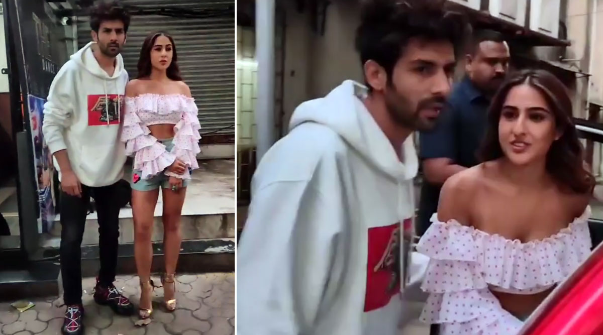 Sara Ali Khan And Kartik Aaryan's Awkward Video Is Making Fans Say 'Why Is She So Rude?'