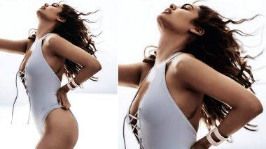 Esha Gupta Looks Piping Hot in her New Picture in a White Monokini