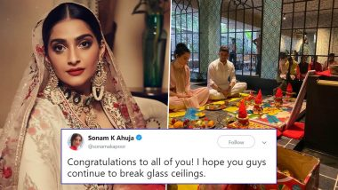 Sonam Kapoor Congratulates Kangana Ranaut and Rangoli Chandel on Their New Production Company (Read Tweet)
