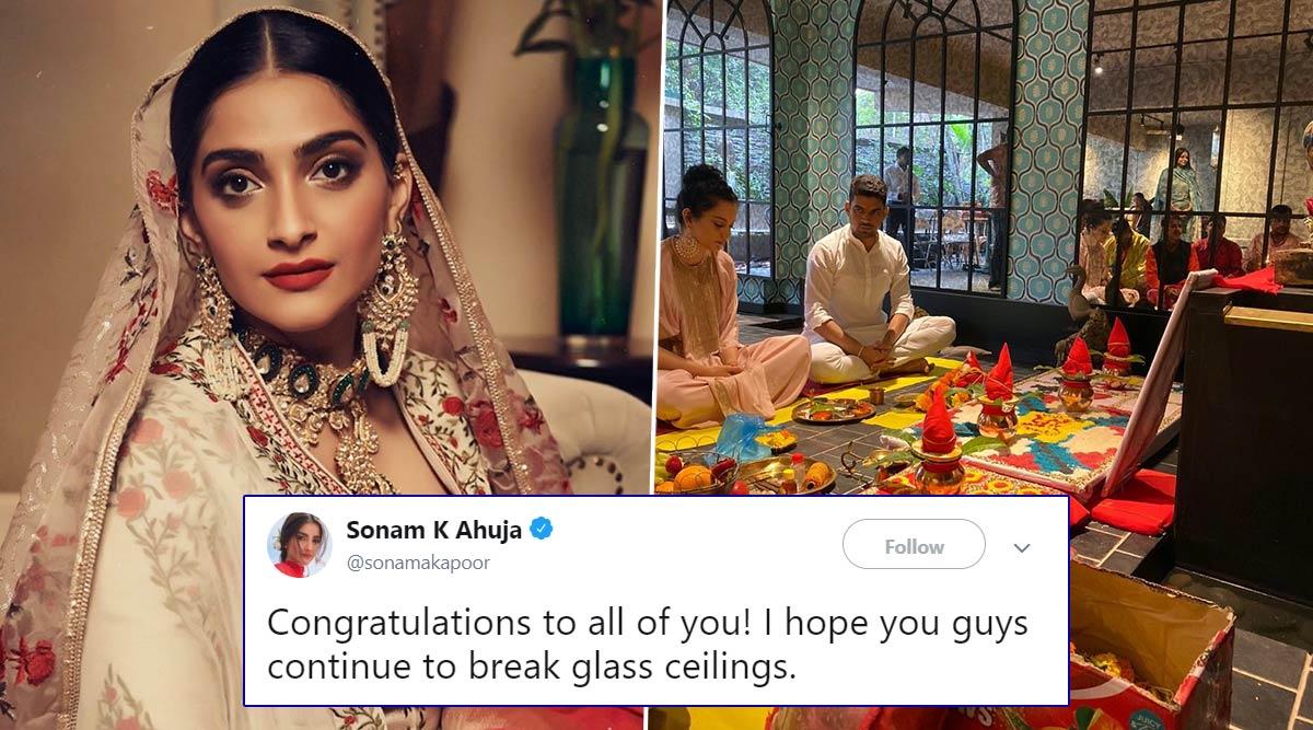 Sonam Kapoor Congratulates Kangana Ranaut and Rangoli Chandel on Their New Production Company (Read Tweet)