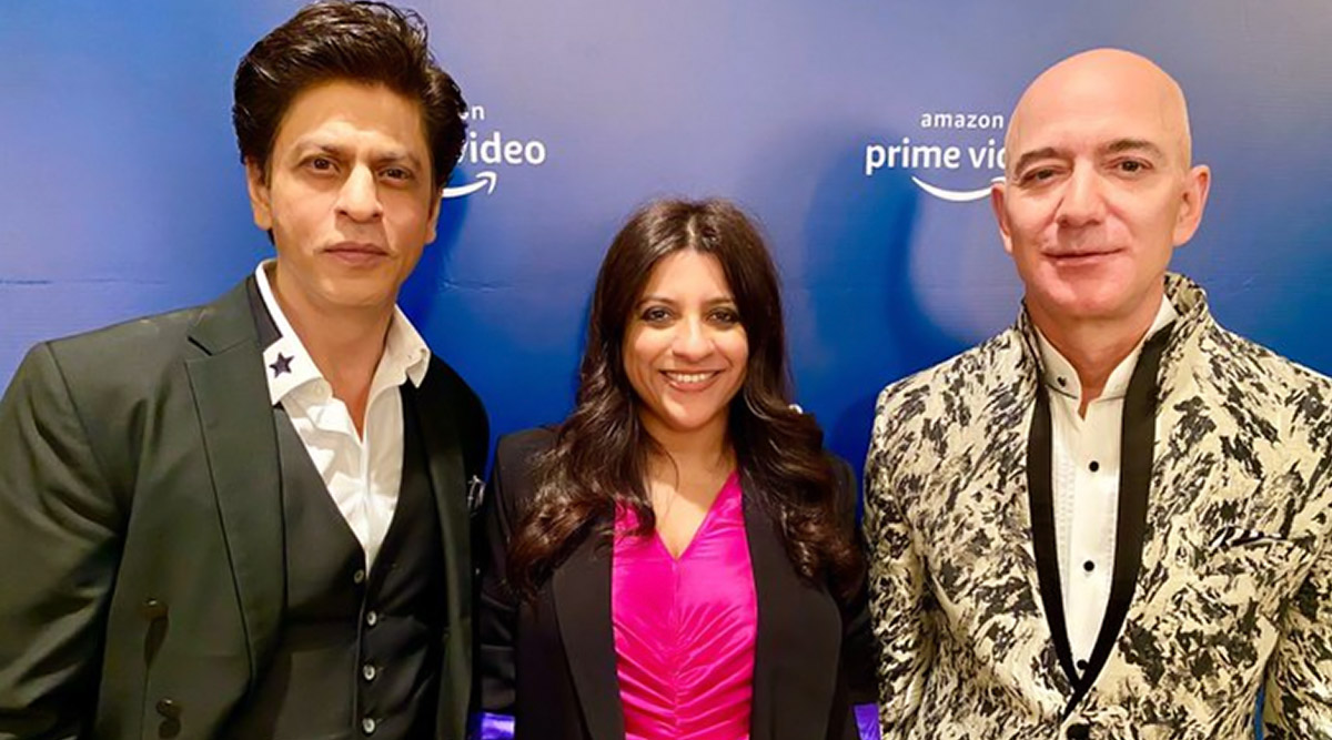 Shah Rukh Khan Is Missing Amazon CEO Jeff Bezos' 'Uninhibited Laughter'