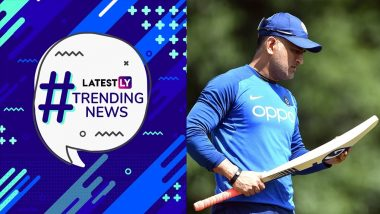 MS Dhoni Is Trending, Naomi Osaka Trolls Serena Williams & Indian Army's Rescue Op | Trending News