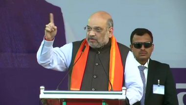 "Amit Shah's Pro-CAA Rally in Hubli: Union Home Minister Calls People Opposing The Act ""Anti-Dalits"""