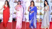 Umang 2020: Priyanka Chopra, Katrina Kaif, Janhvi Kapoor and Others Stun us with their Saree Game for the Night (View Pics)