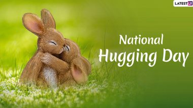 National Hugging Day (United States) 2021 Wishes, Quotes & HD Images: WhatsApp Messages, Facebook Status, Greetings and SMS To Share With Your Loved Ones