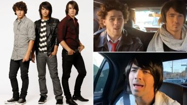 Jonas Brothers Recreate a Camp Rock Scene in Their New TikTok Video and Fans are Loving This Disney Throwback (Watch Video)