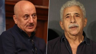 Anupam Kher Hits Back at Naseeruddin Shah for His 'Clown' Remark, Calls Him Frustrated (Watch Video)