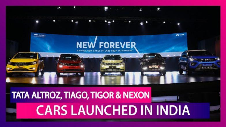 Tata Altroz, Tiago, Tigor & Nexon Launched in India; Check Prices, Features, Variants & Specs