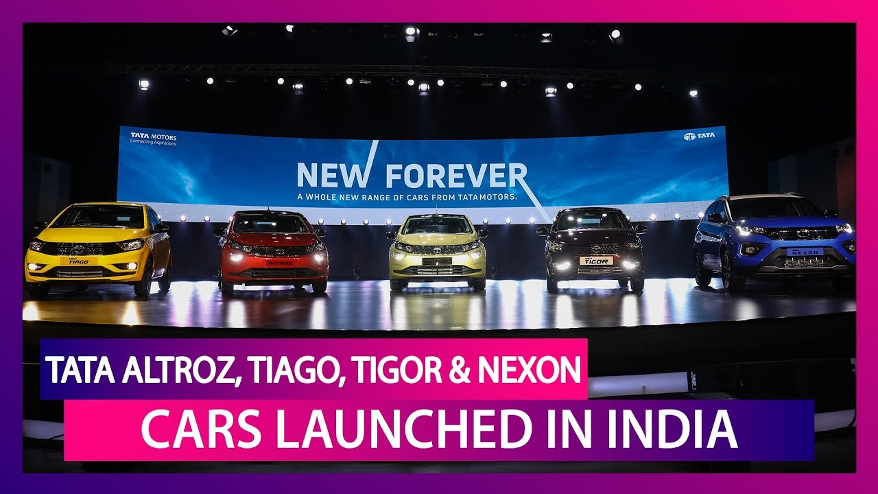 Tata Altroz, Tiago, Tigor & Nexon Launched in India; Check Prices, Features, Variants & Specs