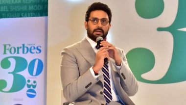 Abhishek Bachchan Begins Shooting for Bob Biswas in Kolkata (View Pic)