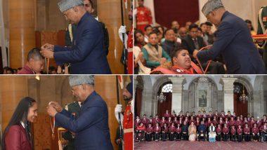 Pradhan Mantri Rashtriya Bal Puraskar 2020: President Ram Nath Kovind Confers Award to 49 Students at Rashtrapati Bhawan