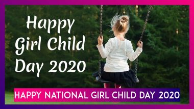 Happy National Girl Child Day 2020: WhatsApp Messages, Images, Quotes To Celebrate Every Girl Child
