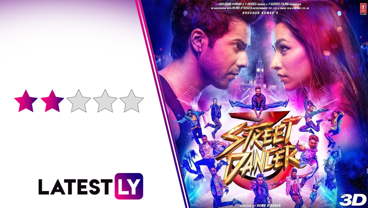 Street Dancer 3D Movie Review: Watch Varun Dhawan, Shraddha Kapoor's Film for the Fantastic Dance Sequences. Snooze Through the Rest!