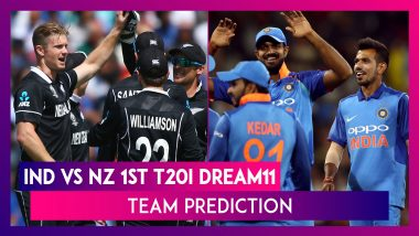 India vs New Zealand Dream11 Team Prediction, 1st T20I 2020: Tips To Pick Best Playing XI