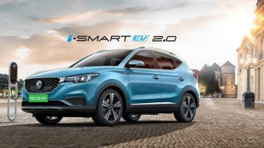 MG ZS Electric Internet SUV Launched in India With Starting Price of Rs 19.88 Lakh; Prices, Features & Specifications