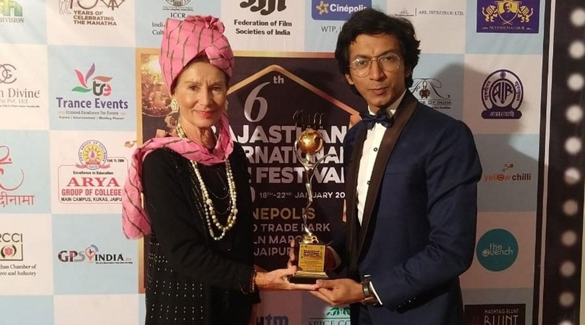 Anshuman Jha Wins Best Actor Jury Award at Rajasthan Film Fest 2020