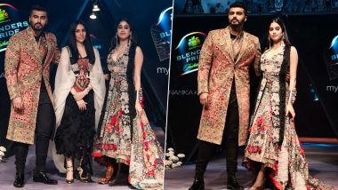 Janhvi Kapoor and Arjun Kapoor turn Muse for Anamika Khanna's New Collection at Blenders Pride Fashion Tour in Kolkata (View Pics)