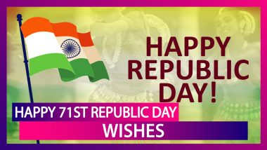 Happy 71st Republic Day Wishes: Patriotic Quotes, Images & Greetings To Share With Family & Friends