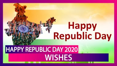 Happy Republic Day 2020 Wishes & Greetings: WhatsApp Messages, Quotes & Images To Send On January 26
