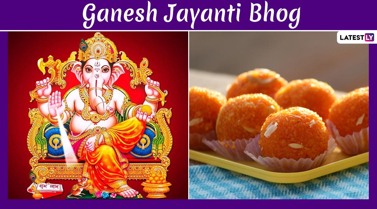 Ganesh Jayanti 2020 Bhog Recipes: From Modak to Puran Poli, Here's How To Make Lord Ganpati's Favourites at Home