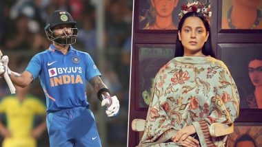 Kangana Ranaut Believes She Has a Lot of Similarities with Virat Kohli