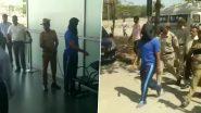 Mangaluru Airport Bomb Scare: Accused Aditya Rao Taken to Airport For Recreation of Crime Scene