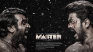 Master Third Look: Thalapathy Vijay Takes on Vijay Sethupathi in this 'Bloody' Good Poster