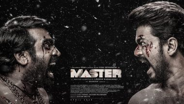 Master Third Look: Thalapathy Vijay Takes on Vijay Sethupathi in this 'Bloody' Good Poster