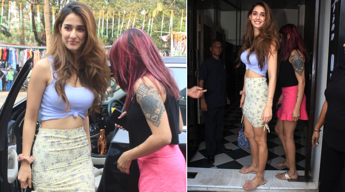 Disha Patani's Sunday Brunch Outfit is all Things Sexy, Stylish and Sassy (View Pics)