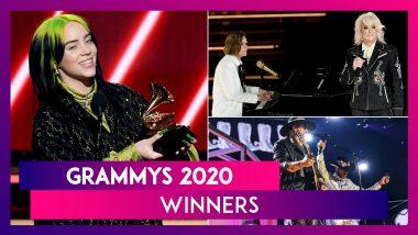 Grammys 2020 Winners' List: Billie Eilish's bad guy, Lil Nas X Bag Top Honours