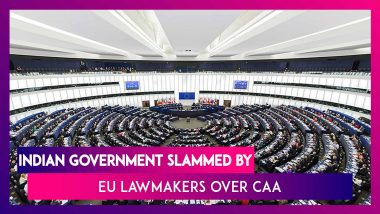 EU MPs ON CAA: Will Create The Largest Statelessness Crisis In The World & Cause Human Suffering