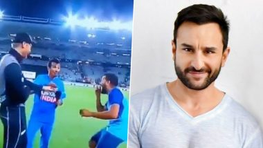 Saif Ali Khan Wants Yuzvendra Chahal to Take Martin Guptill's Wicket to Avenge Kiwi Opener's G**** Jibe!