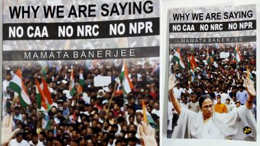 Mamata Banerjee Launches Book Named 'Why We Are Saying no CAA, no NRC, no NPR' at 44th Kolkata Book Fair